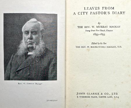 William Murray Mackay Rev Donald Sage Mackay